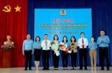 Đồng chí Nguyễn Kim Loan được bầu giữ chức Chủ tịch Liên đoàn Lao động tỉnh