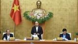 越南政府总理阮春福主持召开政府11月份例行会议