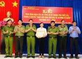 Xã Đất Cuốc, huyện Bắc Tân Uyên nhận bằng khen của Bộ Công an về phong trào toàn dân bảo vệ an ninh Tổ quốc