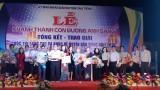 Khánh thành con đường ánh sáng và Trao giải Cuộc thi sáng tác ca khúc về huyện Dầu Tiếng