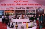 """Xây dựng, quảng bá thương hiệu quốc gia """"Nghệ thuật sơn mài Việt Nam"""""""