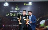 Ca sỹ Tùng Dương thắng lớn tại Giải thưởng âm nhạc Cống hiến