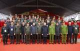 Lễ xuất quân, diễn tập phương án bảo vệ Đại hội lần thứ XIII của Đảng