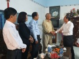 Lãnh đạo tỉnh Bình Dương thăm, tặng quà tết gia đình chính sách, khó khăn trên địa bàn TP.Thủ Dầu Một
