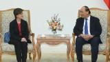 越南政府总理阮春福会见新加坡驻越南大使