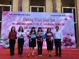 Giao lưu nữ cán bộ lãnh đạo, quản lý các sở, ban ngành, đoàn thể cấp tỉnh với các đơn vị ở huyện Phú Giáo