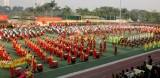 Sơ duyệt tiết mục biểu diễn chào mừng thành công Đại hội XIII của Đảng