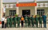 Thị trấn Dầu Tiếng: Đón quân nhân hoàn thành nghĩa vụ quân sự trở về