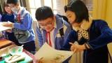越南传统民间绘画展正式开展