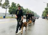Ra quân tuần tra, trấn áp tội phạm, bảo đảm an ninh trật tự dịp Đại hội Đảng toàn quốc lần thứ XIII và Tết Nguyên đán Tân Sửu 2021