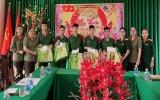 Hội Phụ nữ Công an tỉnh thăm, chúc tết bộ đội biên phòng