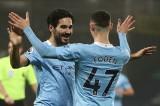Man City chiếm ngôi đầu bảng của Man Utd