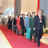 参与越共十三大的平阳省党部代表团(组图)