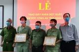 Công an tỉnh Bình Dương: Khen thưởng tập thể, cá nhân sau vụ cháy tại Công ty Sakata