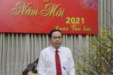 Ông Trần Thanh Mẫn thăm, chúc Tết Bộ Tư lệnh Quân khu 9