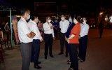 Lãnh đạo tỉnh gặp gỡ, động viên lực lượng làm nhiệm vụ phòng, chống dịch trên địa bàn TP.Thuận An, Dĩ An