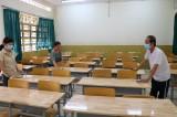 Học sinh tạm dừng đến trường để bảo đảm an toàn phòng, chống dịch bệnh