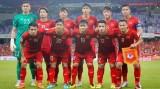 越南男子足球队稳居世界前100名