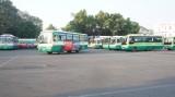 Các tuyến xe buýt hoạt động trở lại bình thường, lượng khách giảm