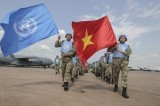 越南发布参加联合国维和行动决议的实施计划