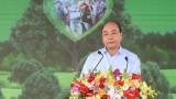 阮春福总理出席在富安省举行的永远铭记胡伯伯功劳植树节启动仪式