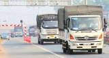 Mở cao điểm kiểm tra trọng tải trên tuyến ĐT741