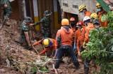 At least five killed, 70 missing after landslides in Indonesia's gold mine
