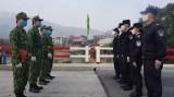 越中加强边境巡逻 做好防控疫情工作