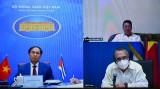 第六次越南-古巴外交部副部长级政治磋商召开