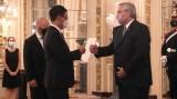 杨国青大使向阿根廷总统递交国书