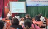 Công đoàn Viên chức tỉnh: Hội nghị chuyên đề gia đình và chăm sóc sức khỏe sinh sản