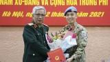 越南第二位军官将赴美国纽约联合国总部执行任务