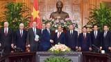 越南政府总理阮春福会见俄罗斯联邦国家安全委员会秘书
