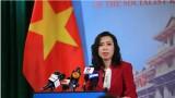 越南要求中国终止侵犯越南主权的行为