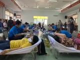 Huyện Phú Giáo: Tiếp nhận 300 đơn vị máu tình nguyện