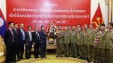 越南与老挝公安力量加强合作
