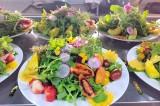 以大叻市蔬菜及鲜花为食料的100道佳肴亮相