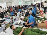 传播无偿献血运动