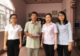 Hỗ trợ kịp thời gia đình người bị mất trong vụ ngộ độc thực phẩm chay
