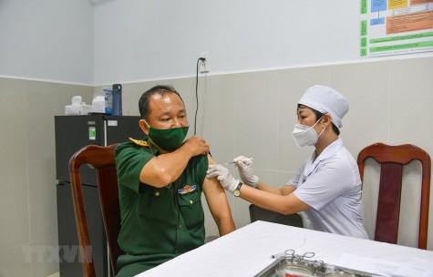 Sáng 11-4, không ghi nhận ca mắc mới Covid-19, gần 60.000 người đã tiêm vaccine