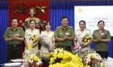 Hội Phụ nữ Phòng Tham mưu Công an tỉnh tổ chức thành công đại hội điểm