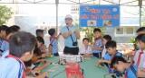 TX.Bến Cát: Hơn 1.000 học sinh tham gia ngày hội thiếu nhi