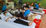 TP.Thuận An: Nhiều người tham gia hiến máu tình nguyện