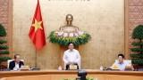 越南政府总理范明正任职后主持召开政府第一次会议