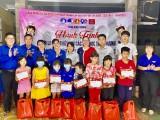 Chăm lo cho thiếu nhi lớp học tình thương tại TP.Thuận An