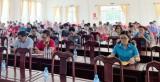 Công đoàn Các khu công nghiệp Bến Cát tổ chức hội nghị thông tin thời sự