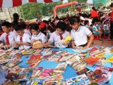 """TX.Bến Cát: 500 học sinh tham dự """"Ngày hội đọc sách"""""""