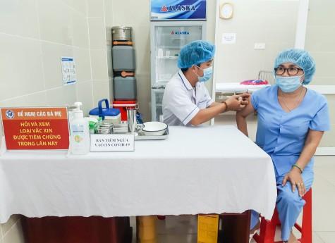 Bình Dương triển khai tiêm vắc xin Covid-19 đợt 2