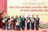 Chủ tịch nước trao tặng nhiều danh hiệu cao quý cho các nhà khoa học