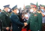 越中举行第六次边境国防友好交流活动